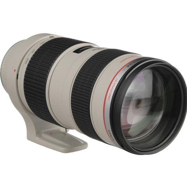 Купить Объектив Canon EF 70-200mm f/2.8L USM (2569A018)