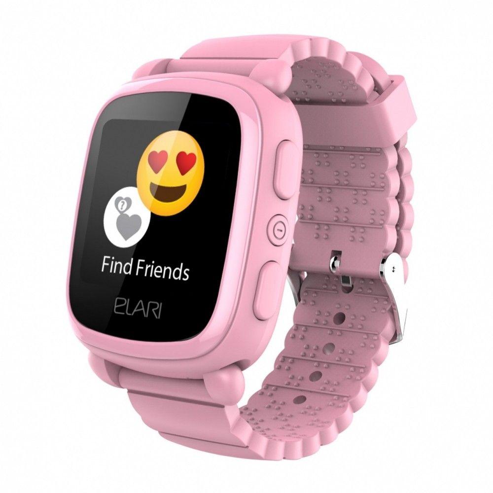 Купить Смарт часы, Детский телефон-часы Elari KidPhone 2 Pink (KP-2P)