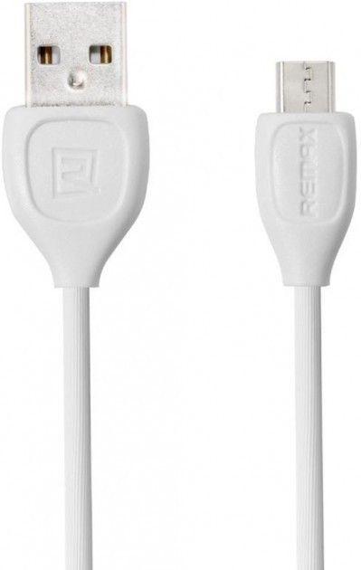 Купить Кабели синхронизации, Кабель Remax Lesu Micro-USB White 1м (RC-050M WH)