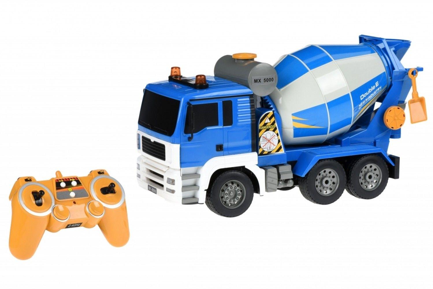 Купить Игрушечные машинки и техника, Машинка на р/у 3 в 1 Same Toy Бетономешалка (E518-003) Blue