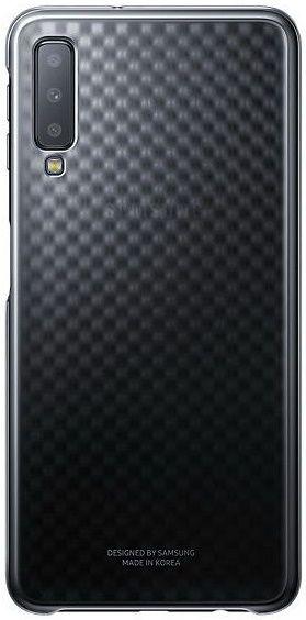 Купить Чехлы для мобильных телефонов, Чехол Samsung Gradation Cover для Samsung Galaxy A7 2018 A750F (EF-AA750CBEGRU) Black
