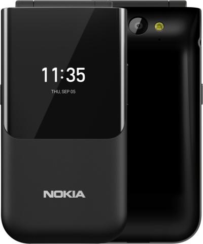 Мобильный телефон Nokia 2720 Flip Dual Sim Black от Територія твоєї техніки