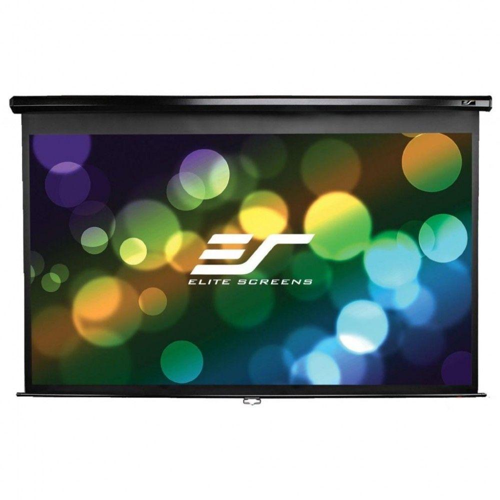 Купить Проекционный экран Elite Screens с механизмом возврата (M139NWX) White case