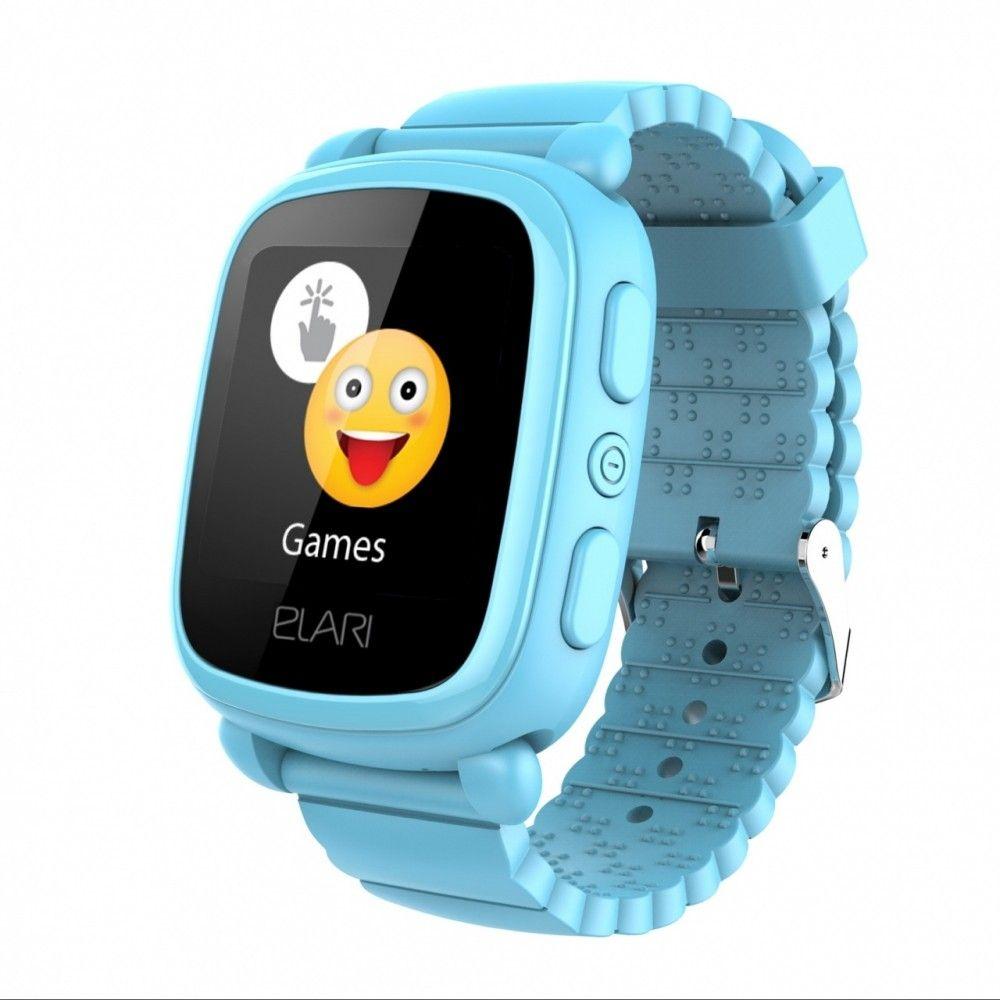 Купить Детский телефон-часы Elari KidPhone 2 Blue (KP-2BL)