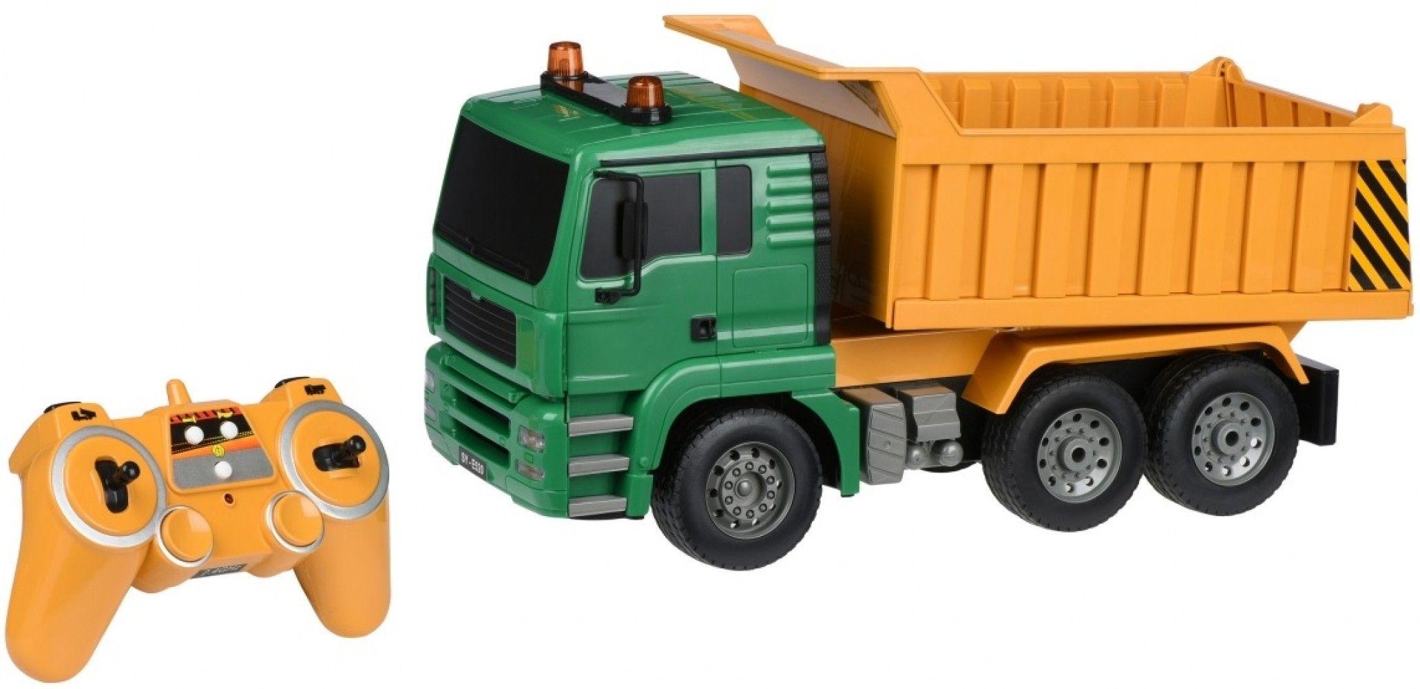 Купить Игрушечные машинки и техника, Машинка на р/у Same Toy Самосвал 1:20 (E520-003)