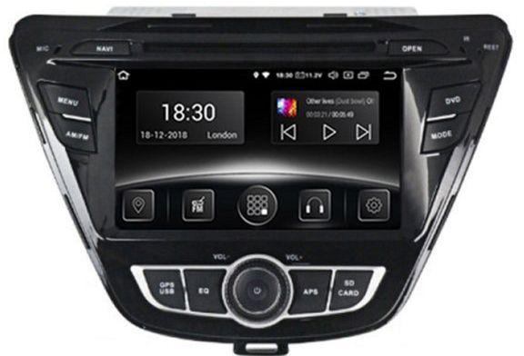 Автомагнитола штатная Gazer CM5007-MD Hyundai Elantra (MD) 2011-2016