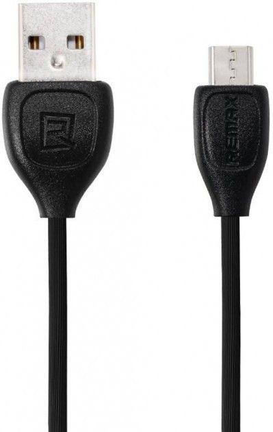 Купить Кабели синхронизации, Кабель Remax Lesu Micro-USB Black 1м (RC-050M BK)
