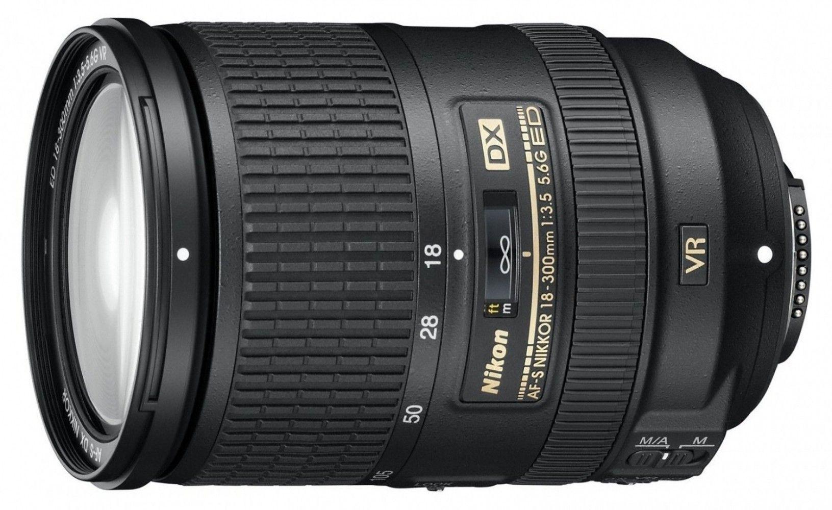 Купить Объектив Nikon AF-S DX Nikkor 18-300mm F3.5-5.6G ED VR (JAA812DA)