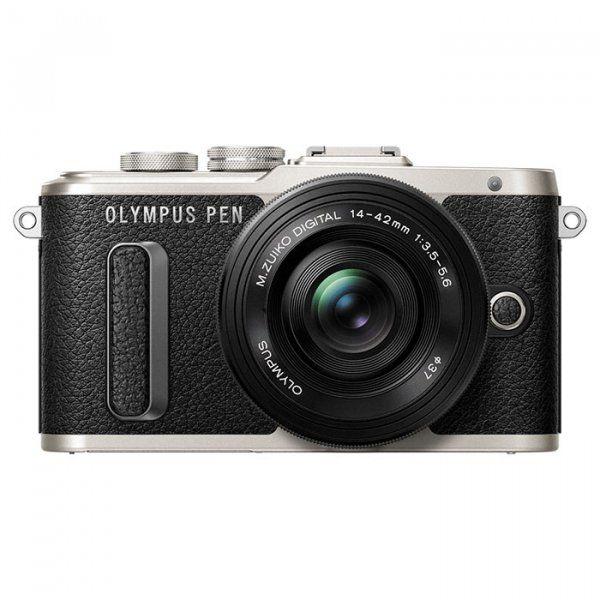 Купить Фотоаппарат Olympus OM-D E-PL8 Pancake Zoom 14-42 Kit Black (V205082BE000)