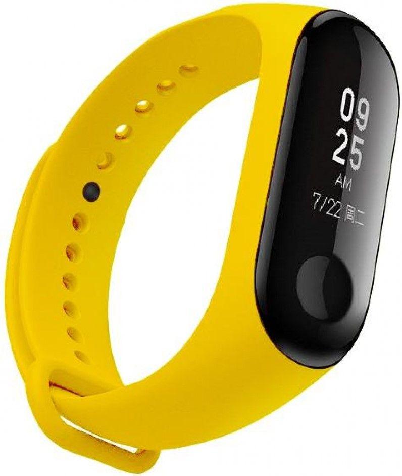 Аксессуары для смарт-часов и смарт-браслетов, Ремешок для Xiaomi Mi Band 3 Yellow, Other  - купить со скидкой