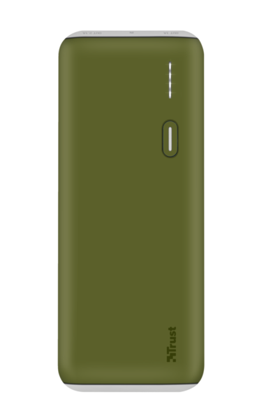 Купить Внешний аккумулятор Trust PWB-100 10000 mAh Green (22265)