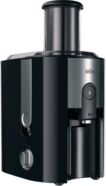 Купить Соковыжималка BRAUN J500 Black