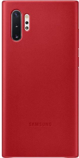 Чехол Samsung Leather Cover для Samsung Galaxy Note 10 Plus (EF-VN975LREGRU) Red от Територія твоєї техніки