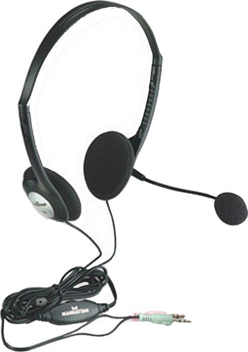 Купить Наушники Manhattan Stereo Headset (164429) Black
