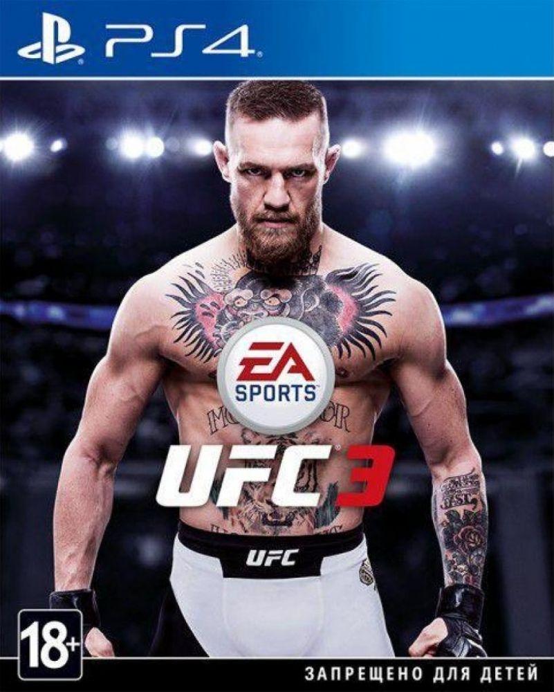 Купить Игры, Диск EA SPORTS UFC 3 (PS4, Russian version), Electronic Arts