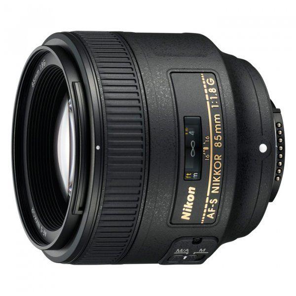 Купить Объективы, Объектив Nikon AF-S Nikkor 85mm f/1.8G (JAA341DA)