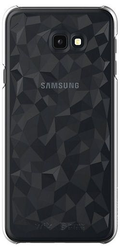 Купить Чехлы для мобильных телефонов, Чехол Samsung J4+ WITS Clear Hard Case (GP-J415WSCPAAA) Transparent