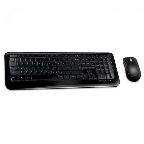 Купить Комплекты, Комплект беспроводной Microsoft Wireless Desktop 850 WL Black Rus (PY9-00012)