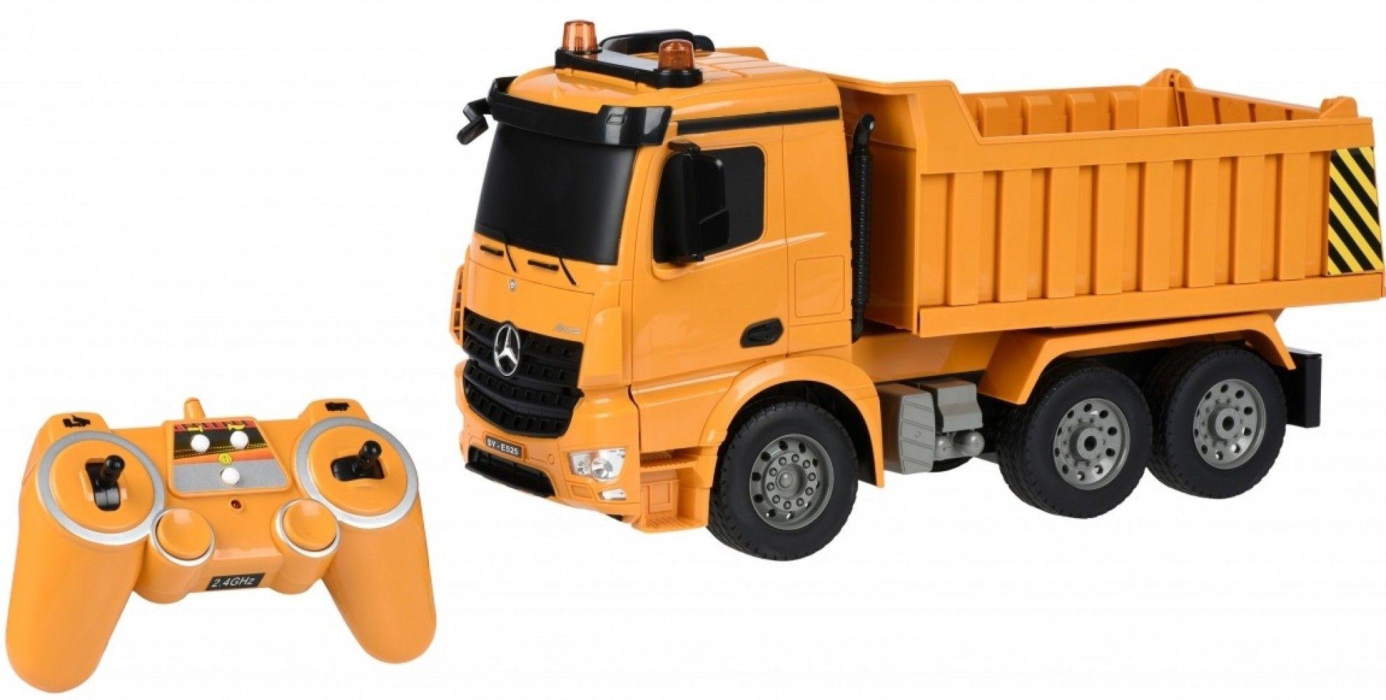 Купить Игрушечные машинки и техника, Машинка на р/у Same Toy Самосвал Mercedes-Benz 1:20 (E525-003)