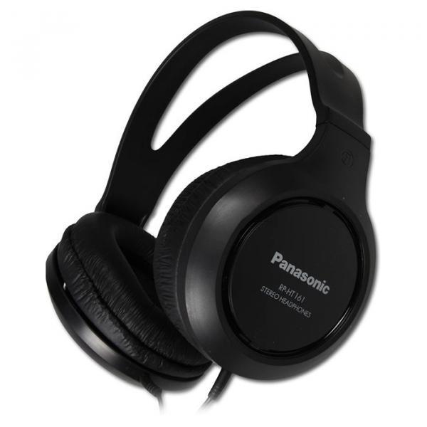 Купить Наушники и гарнитуры, Наушники Panasonic RP-HT161E-K Black