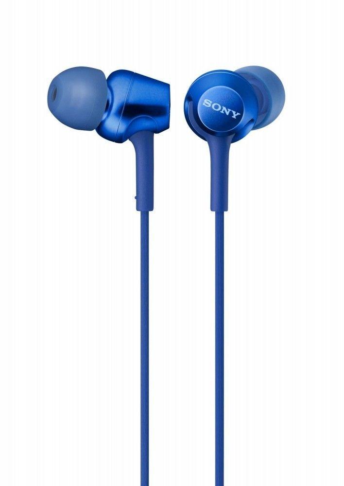 Наушники и гарнитуры, Наушники Sony MDR-EX255AP (MDREX255APL.E) Blue  - купить со скидкой