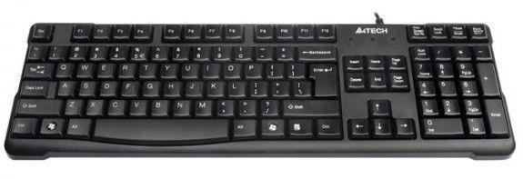Клавиатуры, Клавиатура A4Tech KR-750 PS/2 (4711421805759) Black  - купить со скидкой