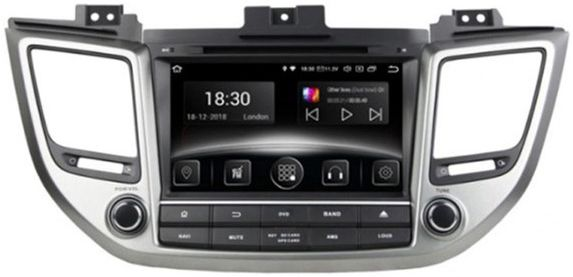 Автомагнитола штатная Gazer CM6008-TL для Hyundai Tucson (TL) 2015-2017
