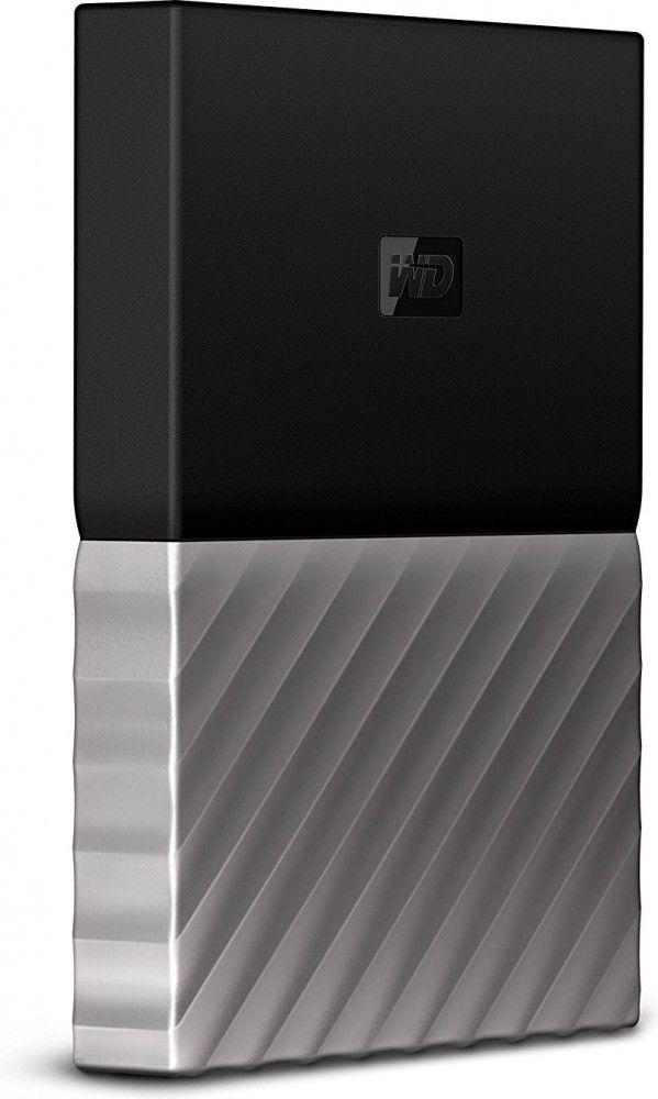 Жесткий диск Western Digital My Passport Ultra 3TB WDBFKT0030BGY-WESN 2.5 USB 3.0 External Black-Gray  - купить со скидкой