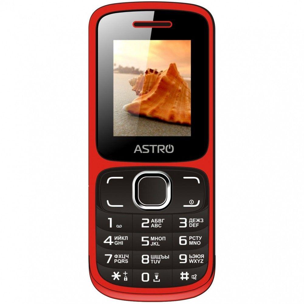 Купить Мобильный телефон Astro A177 Red/Black