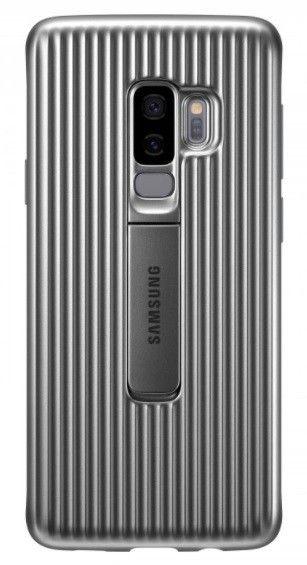 Накладка Samsung Protective Stadning Cover S9 Plus Silver (EF-RG965CSEGRU) от Територія твоєї техніки