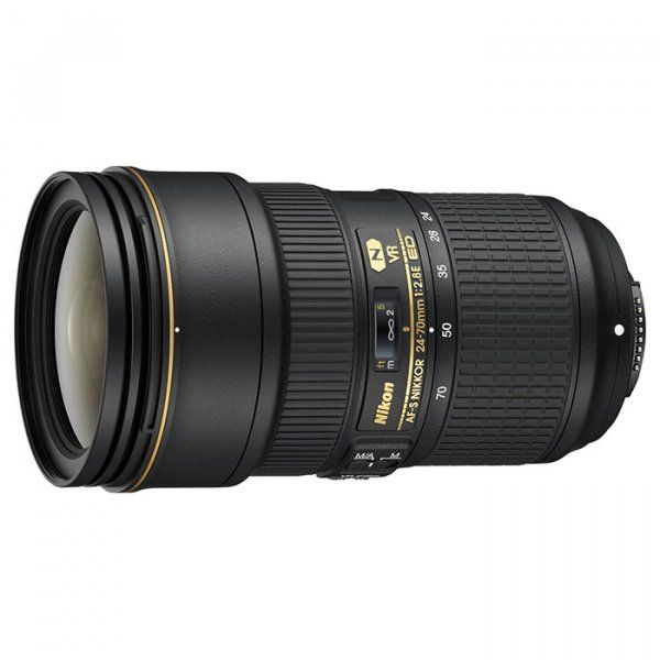 Купить Объектив Nikon AF-S Nikkor 24-70mm f/2.8E ED VR (JAA824DA)