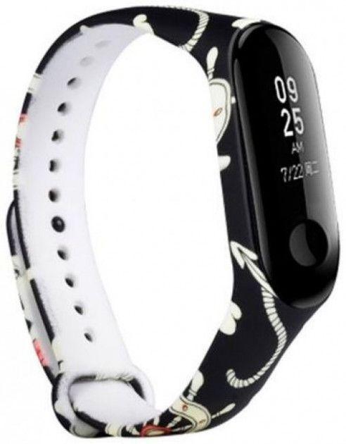 Купить Аксессуары для смарт-часов и смарт-браслетов, Ремешок для Xiaomi Mi Band 3 Blue Hearts, Other
