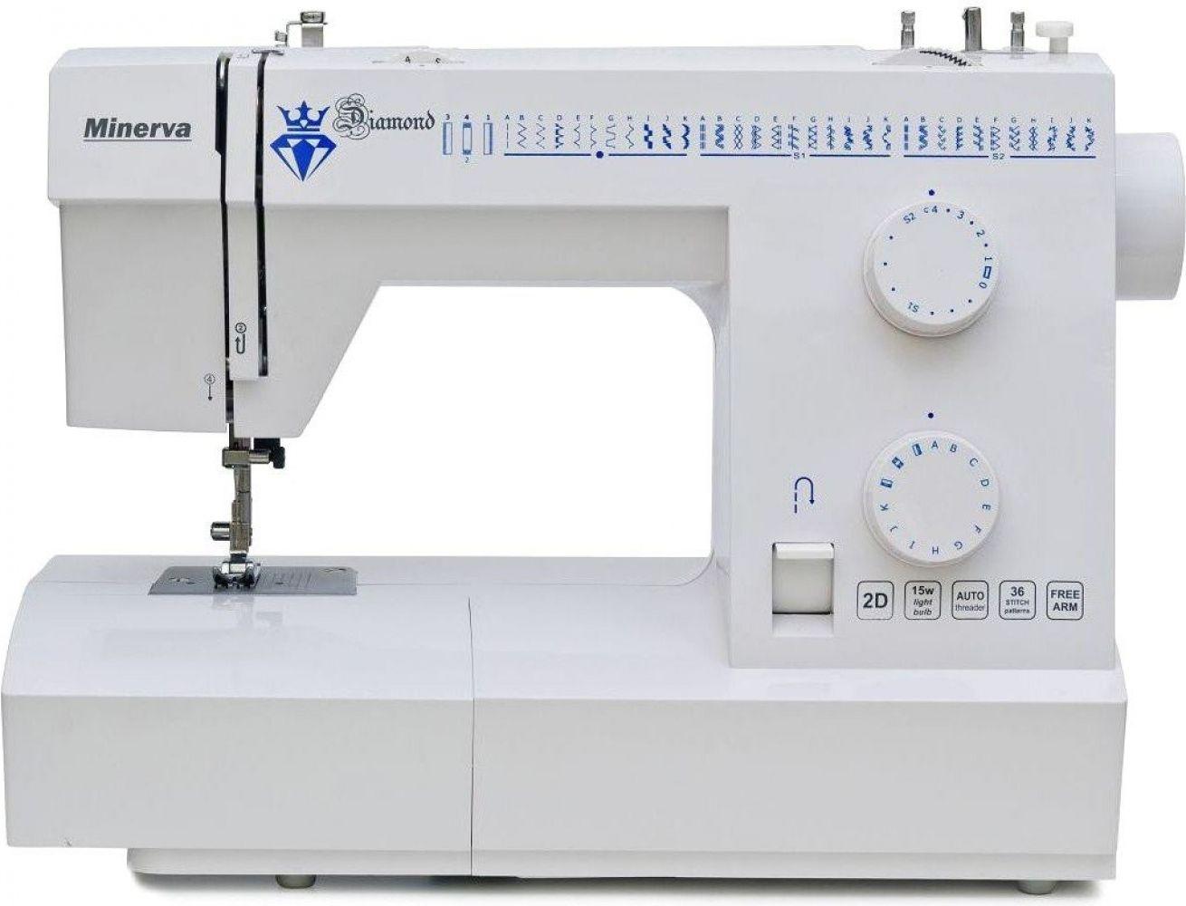 Купить Швейные машинки, Швейная машина Minerva Diamond 36