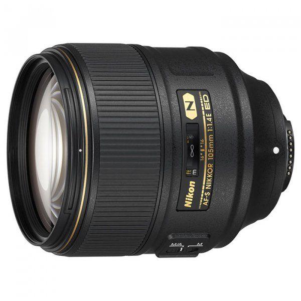 Купить Объектив Nikon AF-S Nikkor 105mm f/1.4E ED (JAA343DA)