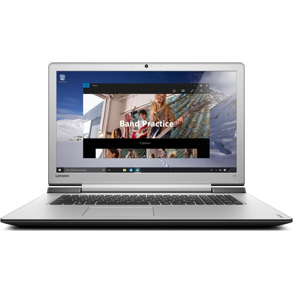 Ноутбук Lenovo IdeaPad 700-17 (80RV0016UA) Black - Silver - 31304
