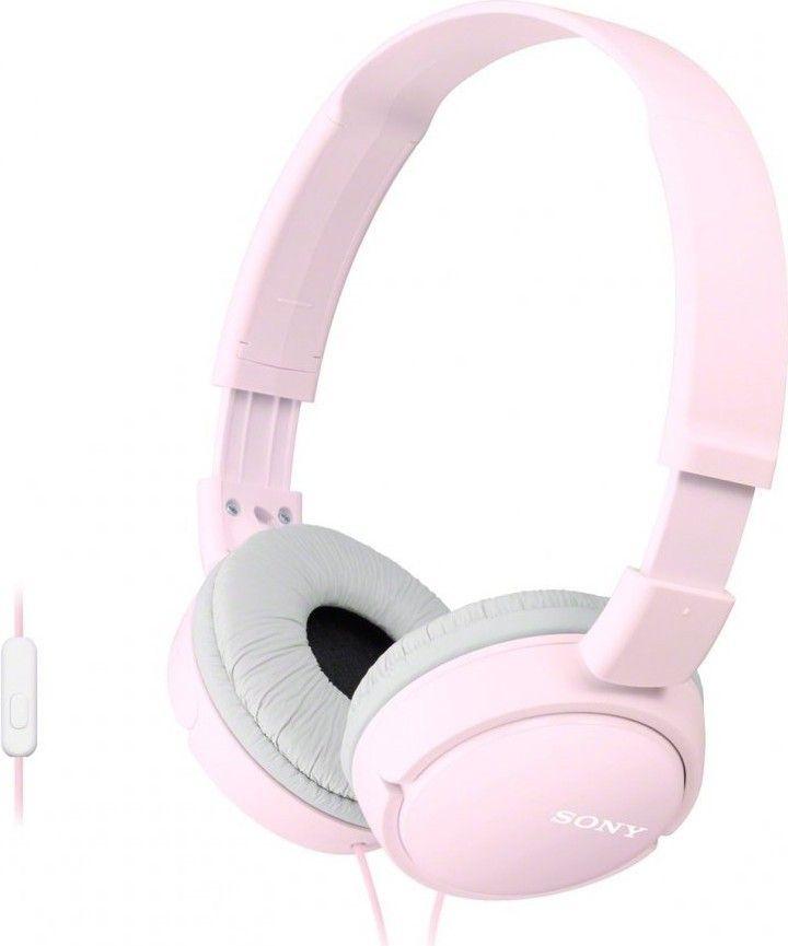 Купить Наушники и гарнитуры, Наушники Sony MDR-ZX110AP Pink