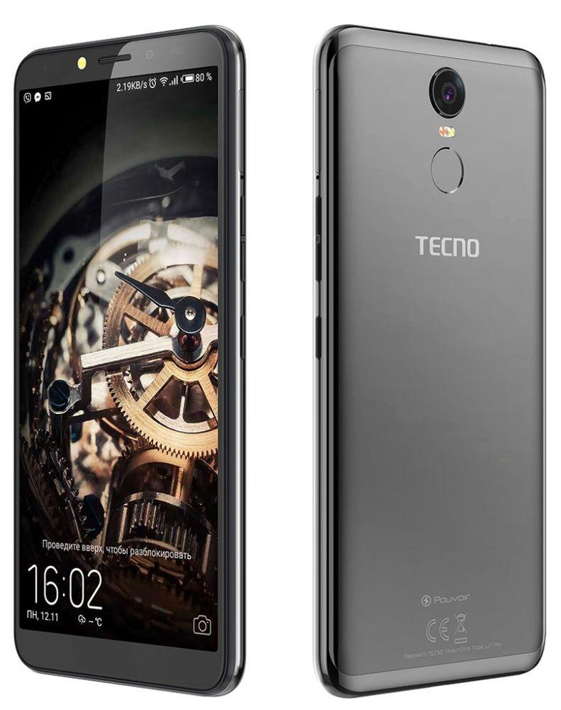 Купить Смартфон Tecno Pouvoir 2 Pro LA7 pro Dualsim (4895180738500) Phantom Black