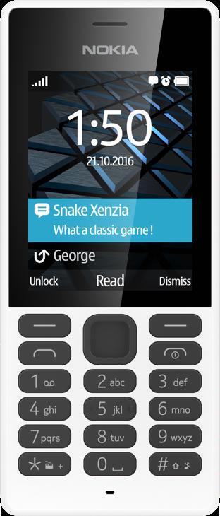 Купить Кнопочные телефоны, Мобильный телефон Nokia 150 Dual Sim White