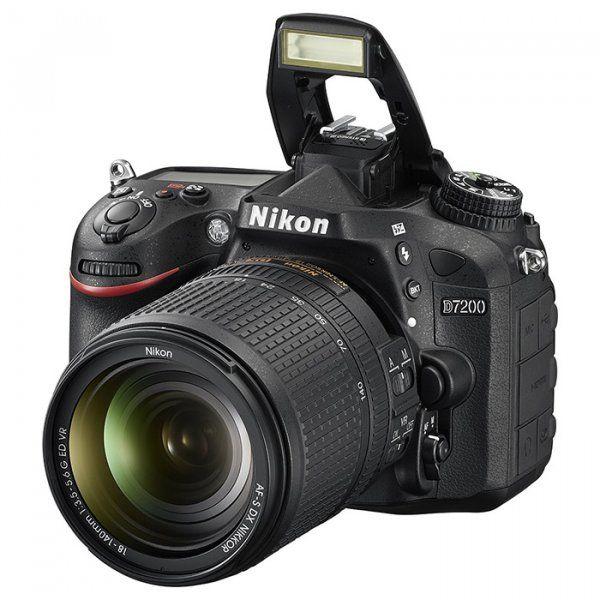 Купить Фотоаппарат Nikon D7200 18-140mm VR Kit (VBA450K002)
