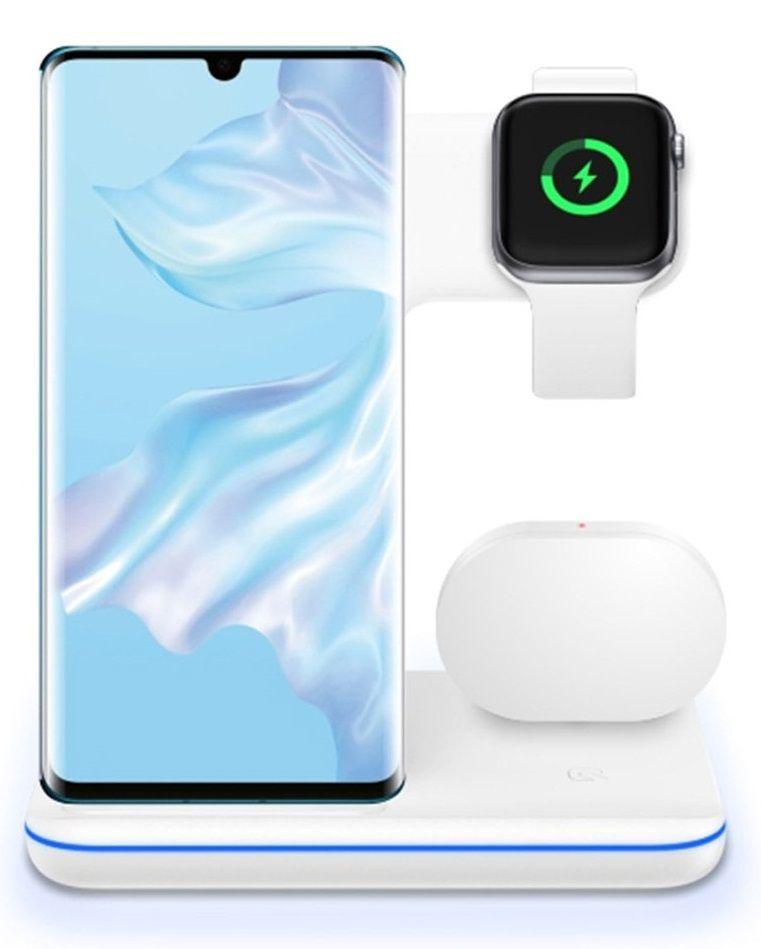 Купить Зарядные устройства, Беспроводное зарядное устройство BeCover BC-Z5 (704089) White