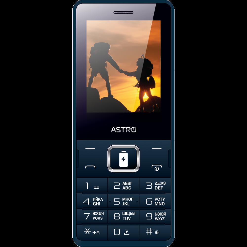 Купить Мобильный телефон Astro B245 Blue