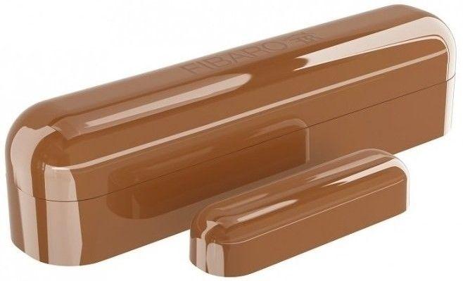Купить Умные датчики, Датчик открытия окна и двери Fibaro Window Sensor 2 (FGDW-002-6_ZW5) Brown