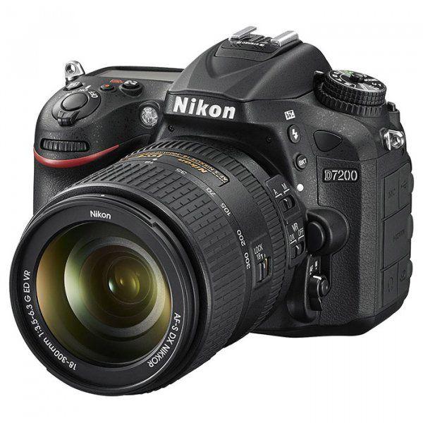 Купить Фотоаппарат Nikon D7200 AF-S DX 18-300 ED VR Kit (VBA450K008)