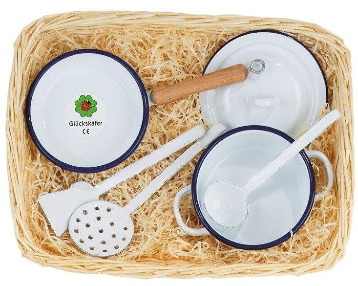 Купить Игровые наборы, Игровой набор посуды Nic эмаль (NIC530740)