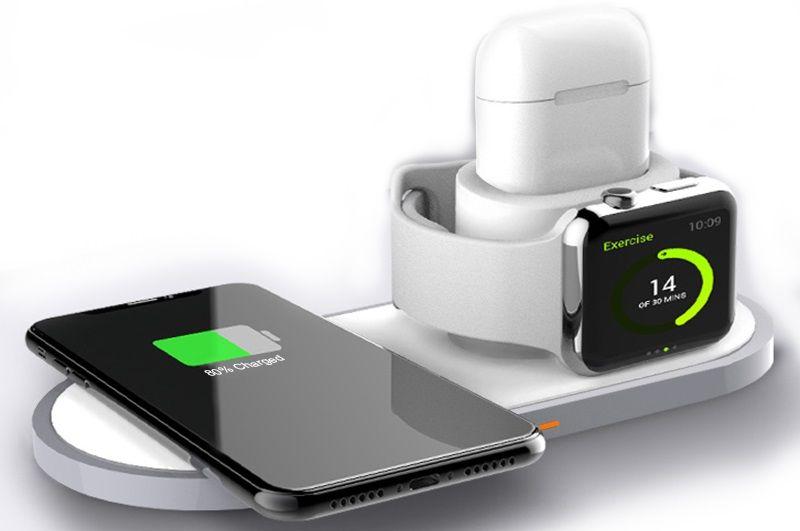 Купить Зарядные устройства, Беспроводное зарядное устройство BeCover BC-W33 (704087) White