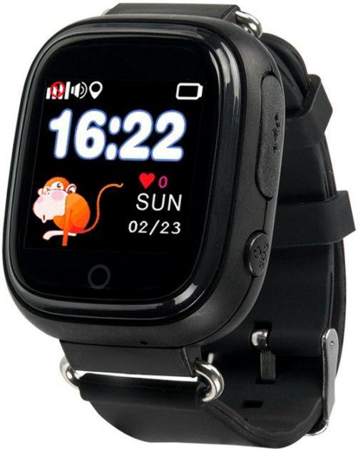 Купить Смарт часы, Детские телефон-часы с GPS трекером Motto TD-02s (SK-003BK) Black