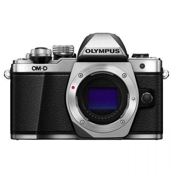 Купить Фотоаппарат Olympus OM-D E-M10 Mark II Body Silver (V207050SE000)