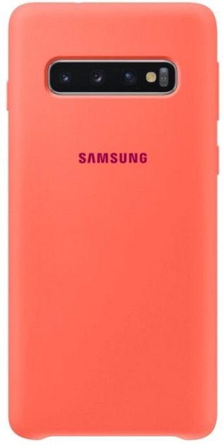 Панель Samsung Silicone Cover для Samsung Galaxy S10 (EF-PG973THEGRU) Berry Pink от Територія твоєї техніки