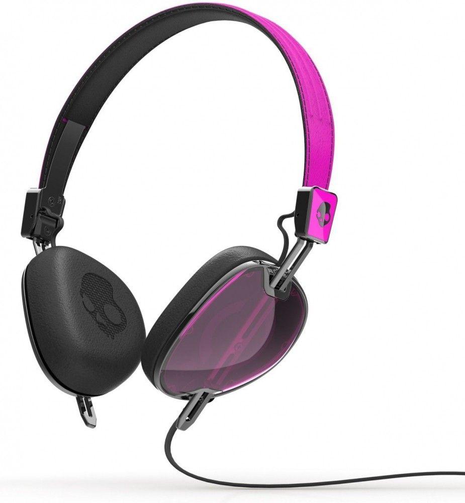Купить Наушники и гарнитуры, Наушники Skullcandy Navigator w/Mic3 (S5AVFM-313) Hot Pink/Black