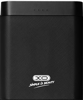 Купить Универсальные мобильные батареи, УМБ XO PB39 8000mAh Li-ion 2USB 2A Black
